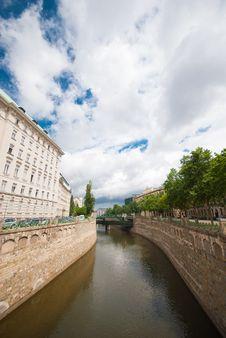 Free Danube In Vienna Stock Image - 26597171