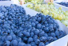 Organic Grapes Royalty Free Stock Image