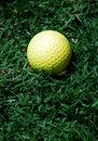 Free Yellow Golf Ball Royalty Free Stock Photos - 2666698