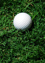 Free White Golf Ball Stock Photo - 2666790
