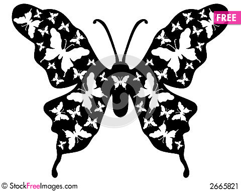 Butterfly Design Ornamental 9 Free Stock Images Photos 2665821
