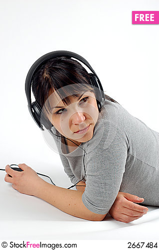 Free Enjoying Music 10 Stock Images - 2667484