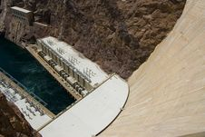 Free Hoover Dam At Lake Powell Royalty Free Stock Photography - 2660017