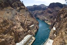 Free Hoover Dam At Lake Powell Stock Photo - 2660040