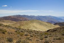 Death Valley In California Stock Images