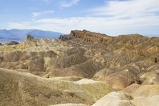 Death Valley In California Stock Photo