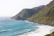 Free Big Sur Coast Royalty Free Stock Image - 2660426