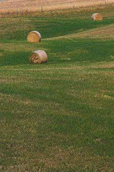 Free Landscape Hay Balls 4 Stock Photos - 2660813