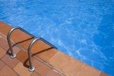 Free Swimming Pool Springboard Stock Images - 2661154
