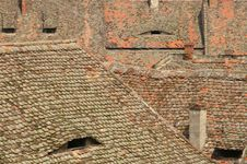 Free Old Roofs Royalty Free Stock Photography - 2661307