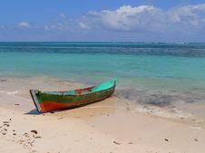 Free Island Speed Boat Royalty Free Stock Photo - 2662165