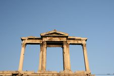 Free Hadrian S Arch Royalty Free Stock Images - 2662349