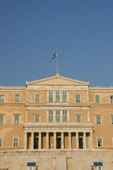 Free Greek Parliament Stock Photography - 2662412