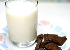 Free Milk And Chocolate Stock Photos - 2663413
