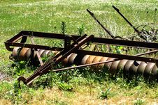 Free Antique Farm Equipment Stock Photography - 2663922