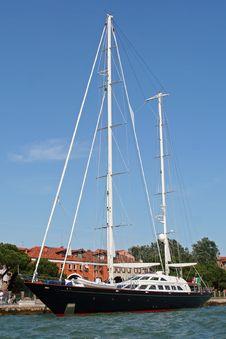 Luxury Ship Royalty Free Stock Photography