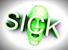 Free Sick 4 Royalty Free Stock Photos - 2665198