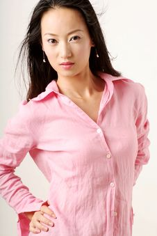Free Chinese Girl Royalty Free Stock Image - 2665656