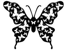 Free Butterfly Design Ornamental 9 Stock Image - 2665821