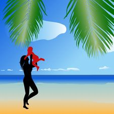 Free Tropical Beach. Stock Photos - 2666133