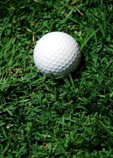 Free White Golf Ball Stock Photo - 2666790