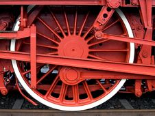 Free Steam Engine Wheeel Stock Photography - 2666952