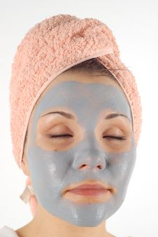 Beauty Mask 33 Stock Photo