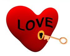 Key To Your Heart 99 Royalty Free Stock Image