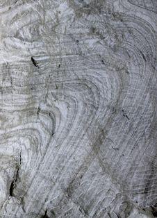 Eroded Salt Stone Stock Images