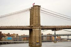 Free The Brooklyn Bridge, NYC Stock Image - 26601771