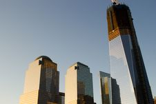 Free The New World Trade Center Skyline Stock Photo - 26602390