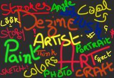 Free Graffiti Background Stock Photography - 26605762