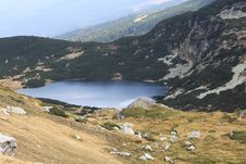 Free Lake In Rila Mountain Royalty Free Stock Photography - 26611977