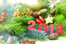 Free Happy New Year 2013 Stock Images - 26612664