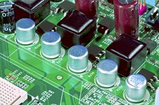 Free Motherboard Fragment Stock Photos - 26616013