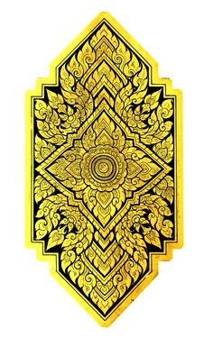 Traditional Thai Style Symbol Stock Images