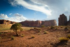 Free Monument Valley Royalty Free Stock Photography - 26618727