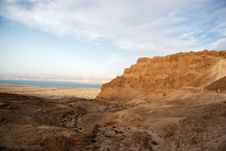 Free Masada And Dead Sea Stock Photography - 26618902