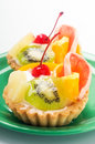 Free Cupcake With Fruits Royalty Free Stock Image - 26621826
