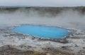 Free Detail Of Blue Geothermal Pond In Hveravellir Royalty Free Stock Images - 26623449