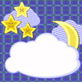 Free Scrapbook Night Sky Card Stock Photos - 26625333