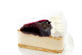Free Blueberry Cheesecake Royalty Free Stock Photo - 26628725