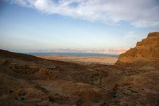 Free Masada And Dead Sea Royalty Free Stock Photography - 26621717
