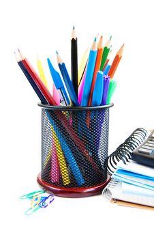 Free School Supplies Stock Photo - 26621930