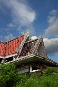 Free Ruins Of The Thai House. Stock Image - 26622131