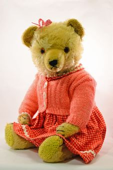 Free Retro Teddy... Stock Photos - 26622593