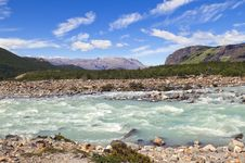 Free Cold Turbulent River Royalty Free Stock Photography - 26624217