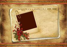 Free Christmas Greeting Card Royalty Free Stock Photo - 26624855