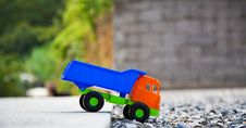 Free Color Toy Truck. Stock Image - 26625331