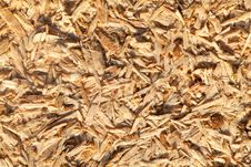 Close Up Of A Recycle Compressed Wood Royalty Free Stock Photo